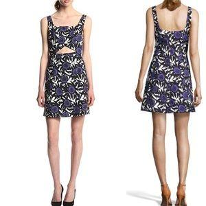 Graphic Rebecca Minkoff floral cutout dress